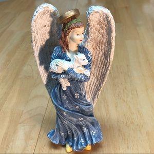 """Vintage 7.5"""" Porcelain Angel"""